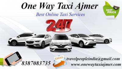 Jaipur Airport To Ajmer One Way Taxi,