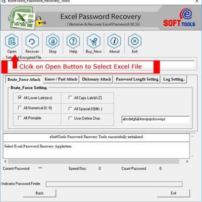 eSoftTools Excel Password Unlocker Software