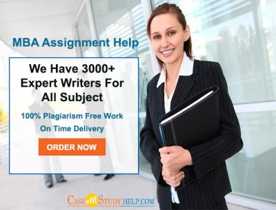 Best MBA Assignment Help and Writing Services