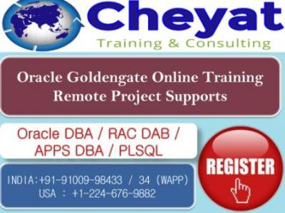 Oracle 12c GoldenGate Online Training