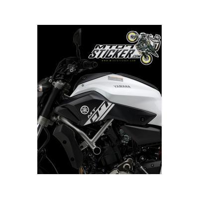Yamaha MT-07 side cover sticker (01)