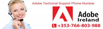 Adobe Help Support Number Dublin