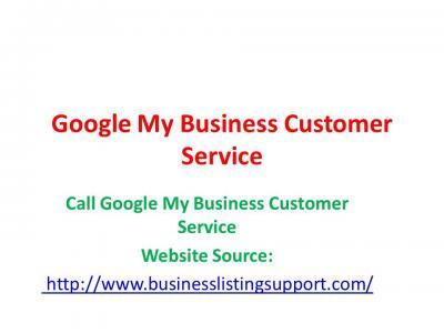 Google My Business Customer Service