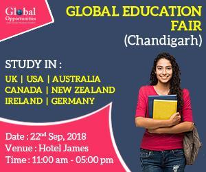 Global Education Fair in Chandigarh