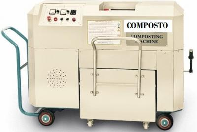 Semi automatic organic waste converter machine