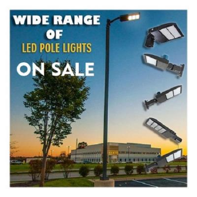 Wide Range Of LED Pole Lights On SALE - Price Drop