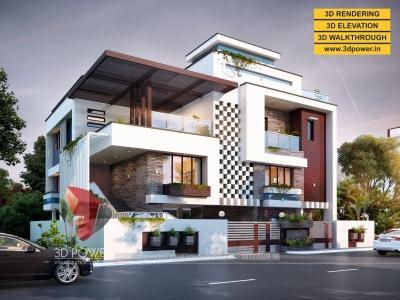 3D Architectural Walkthrough & Rendering Services