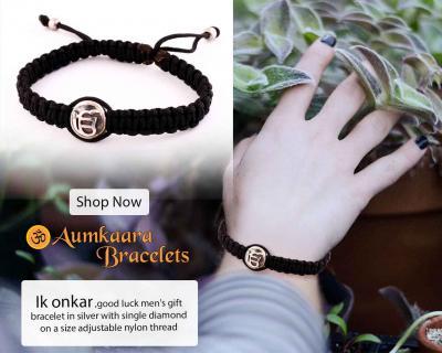 Ik onkar Gents Gift Bracelet
