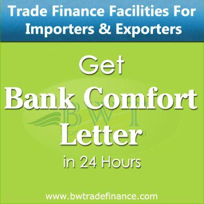 Letter of Comfort MT799 for Huge Commodity Trade