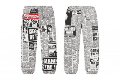 Supreme Fall/Winter 2018 Pants