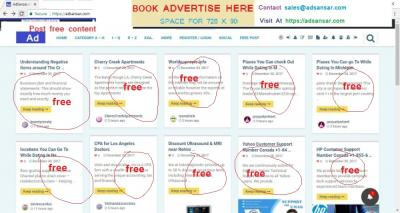 Post Free Advertise in california & Worldwide