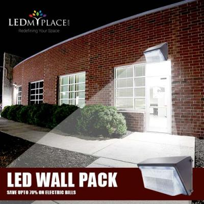 LED Wall Pack Is Beating The Metal-Halide/ Sodium-