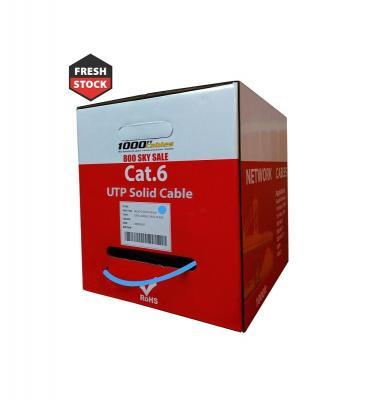 Plenum 1000ft Cat6 UTP Ethernet Network Cable