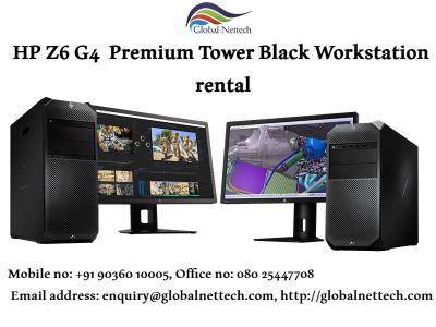HP Z6 G4  Premium Tower Black Workstations on rent