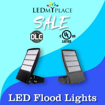 LED Flood Lights are more cost effective Lighting